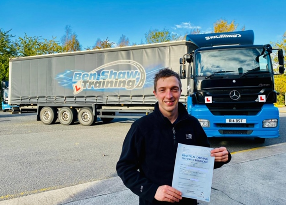 HGV Driving Pass for Technician Jack