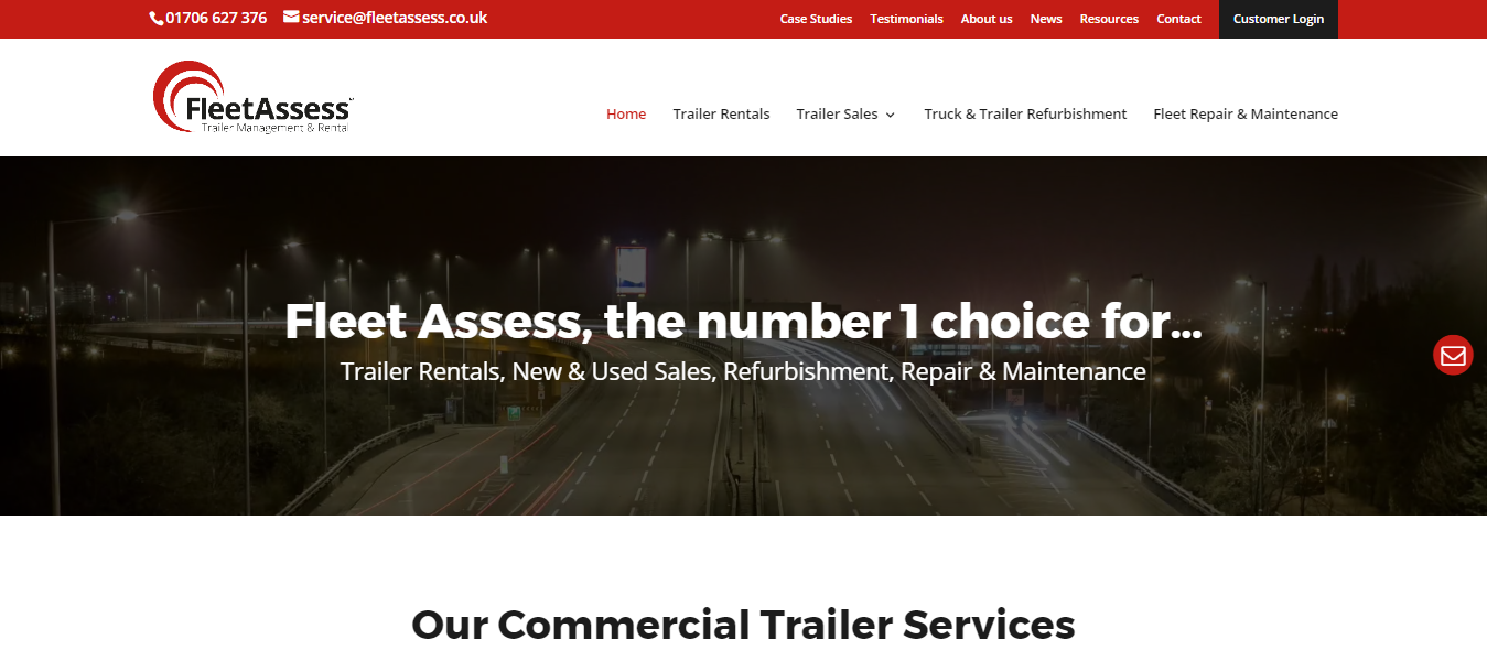 Fleet Assess Launch New Look Website