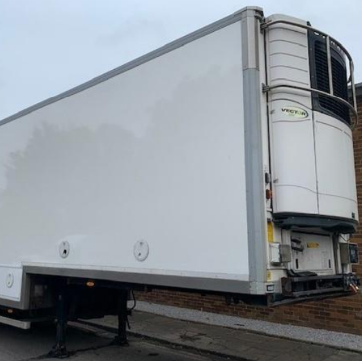 used refrigerated trailers