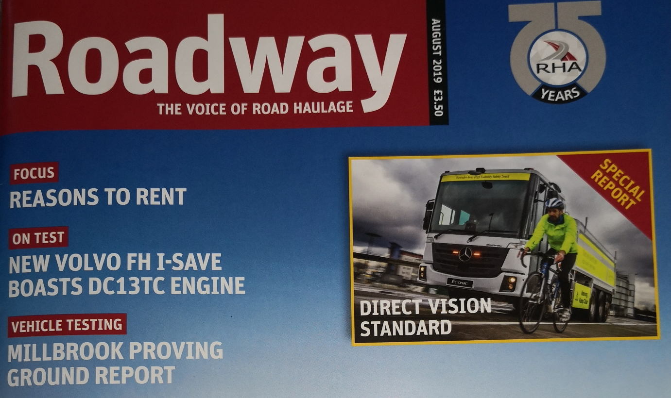 Roadway Magazine Feature – August 2019